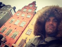 Selfie en Stortorget en Gamla Stan Estocolmo Foto: Israel Úbeda / sweetsweden.com