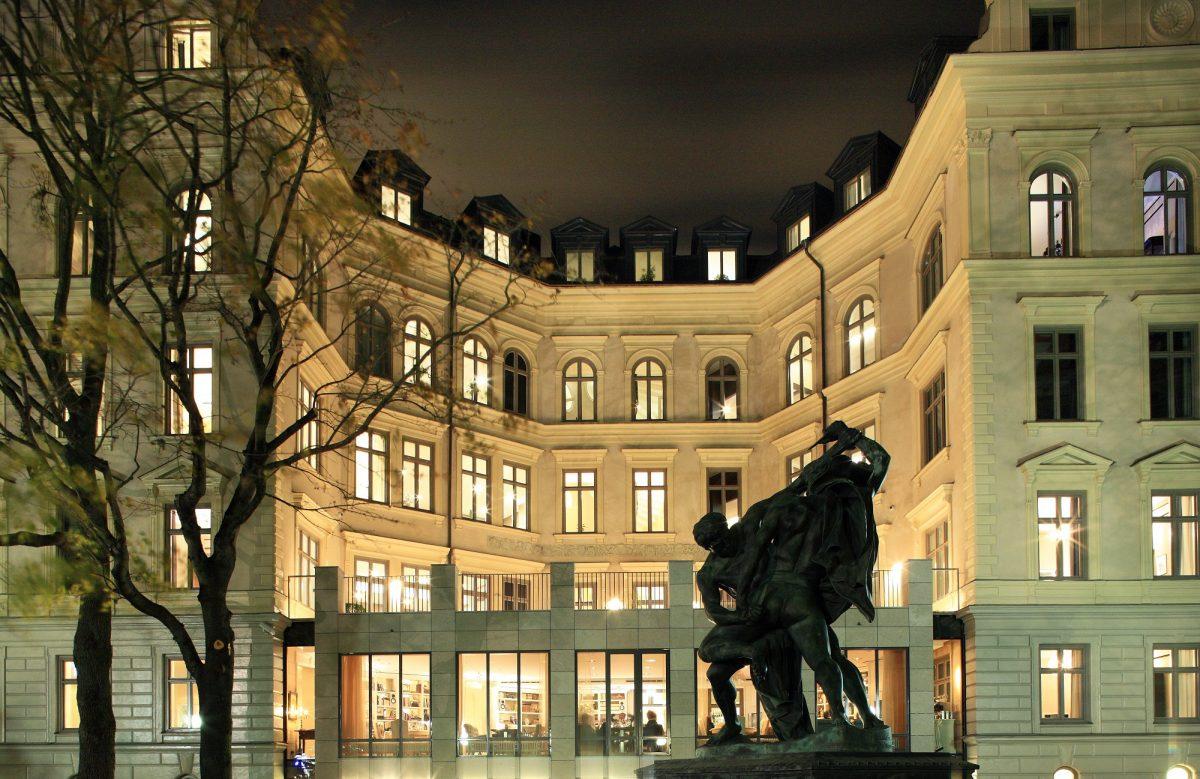 Exterior del lujoso hotel Lydmar en Estocolmo <br> Foto: lydmar.com