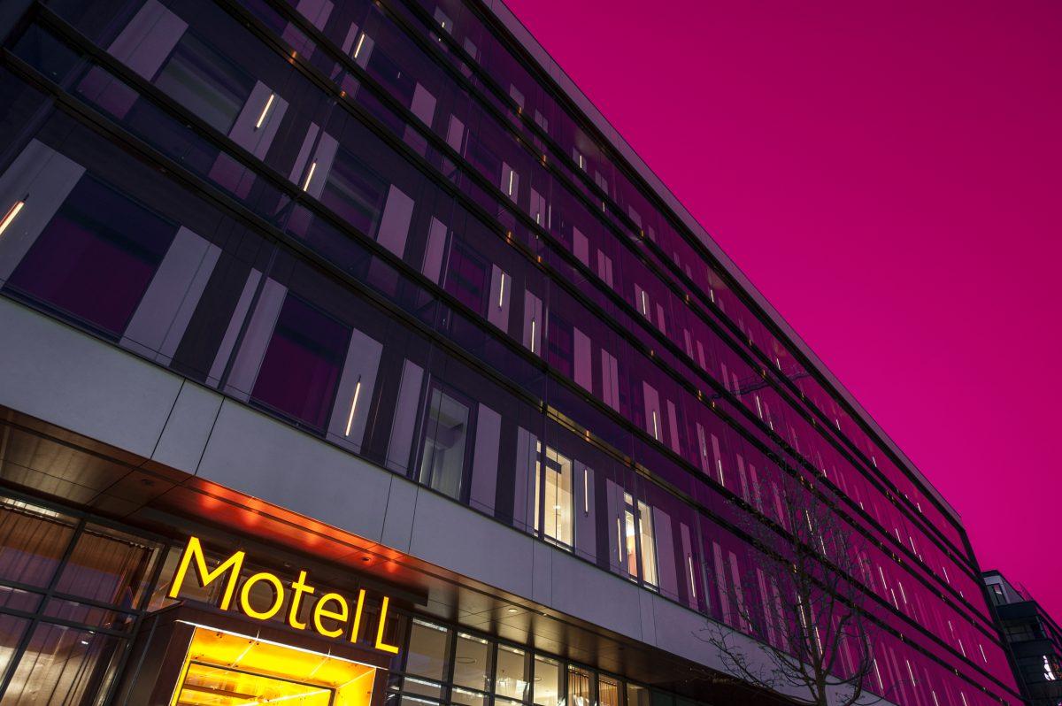 Exterior Motel L Estocolmo <br> Foto: Philip Laurell