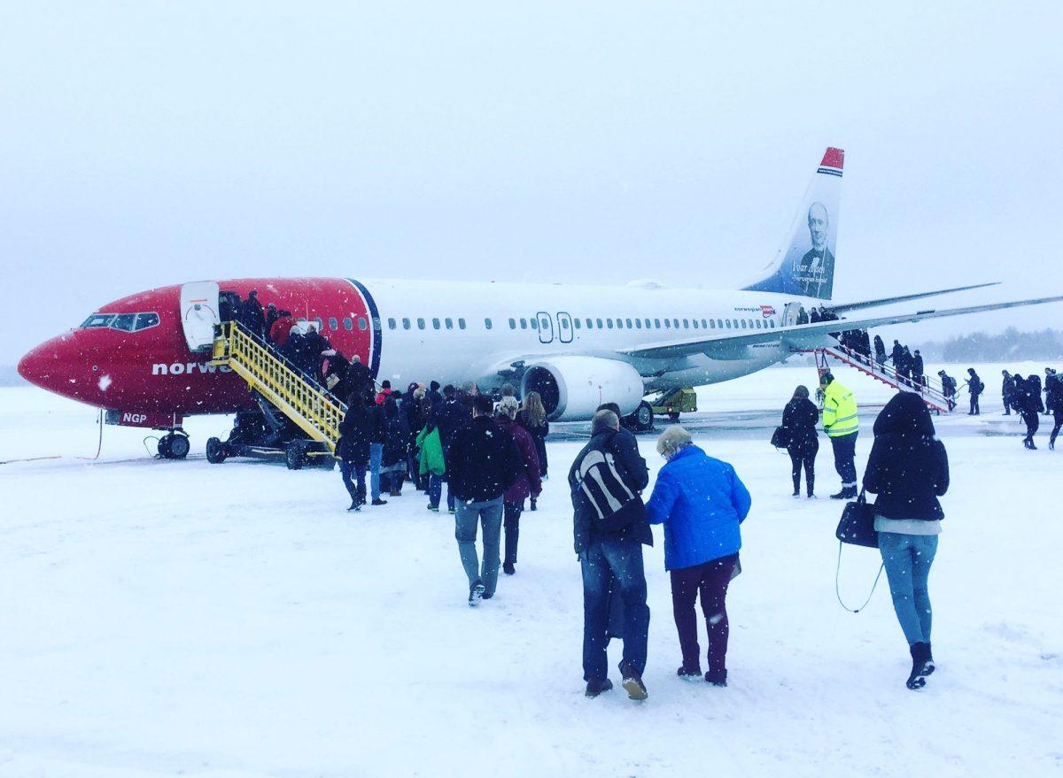 Volando con Norwegian en Suecia <br> Foto: Israel Úbeda / sweetsweden.com