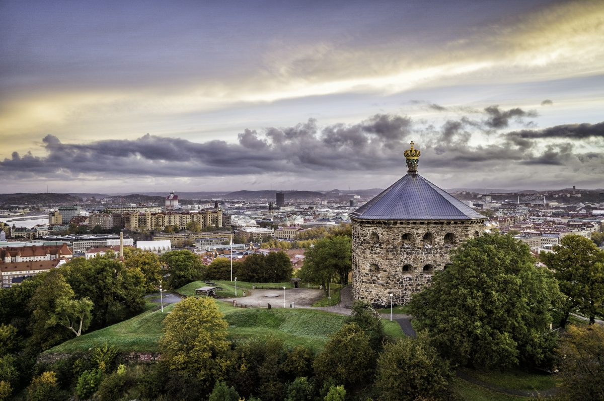 View over Gothenburg and Skansen Kronan <br /> Photo: Per Pixel Petersson / Göteborg &amp; Co