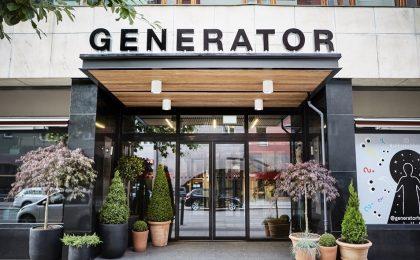 Entrada del hostal hipster Generator Stockholm Foto: generatorhostels.com