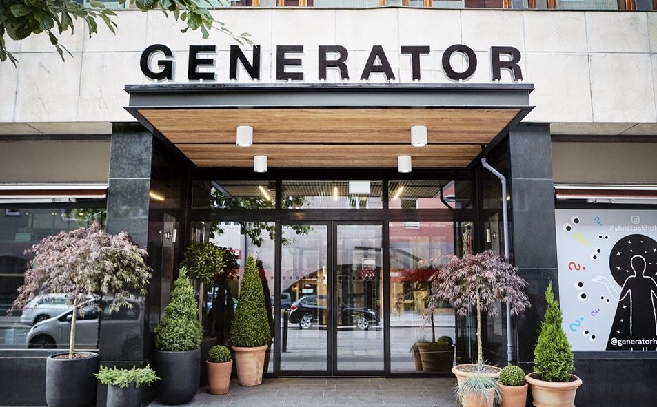 Entrada del hostal hipster Generator Stockholm <br> Foto: generatorhostels.com
