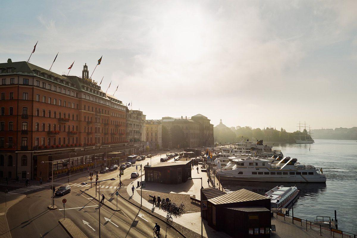 Grand Hotel en Estocolmo <br> Foto: grandhotel.se