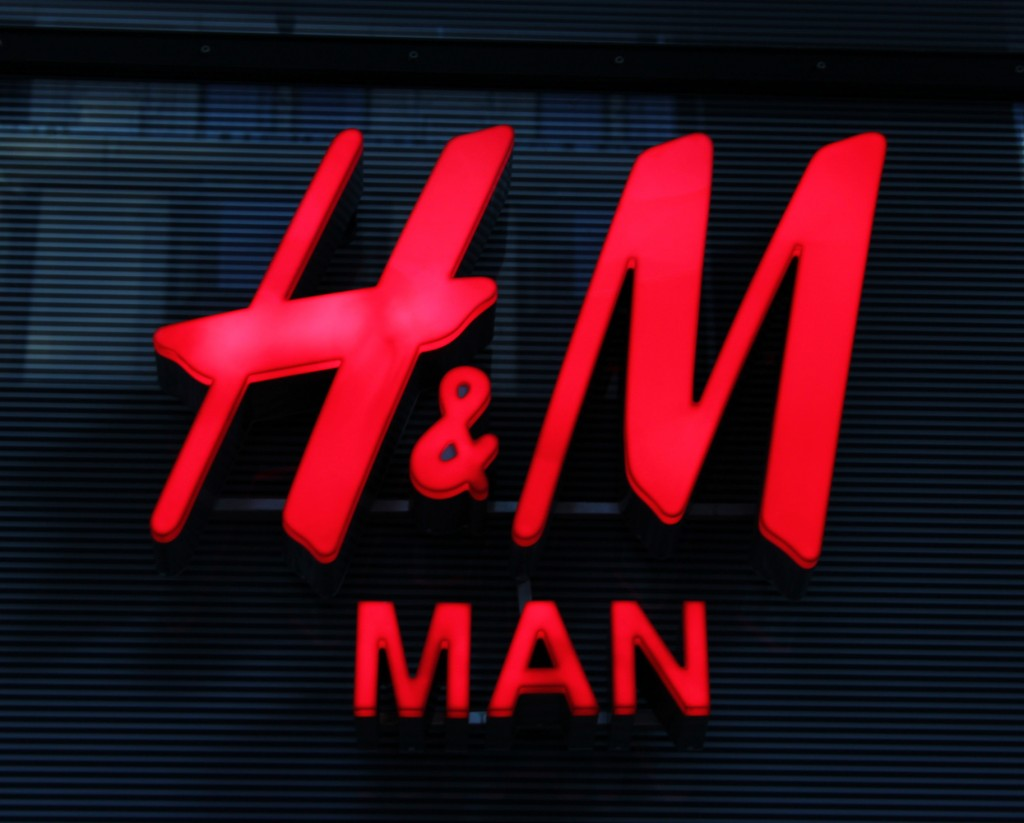 Logo de la empresa sueca H&M