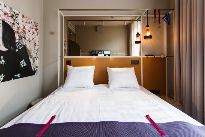 Las habitaciones del Scandic nº53 en Estocolmo