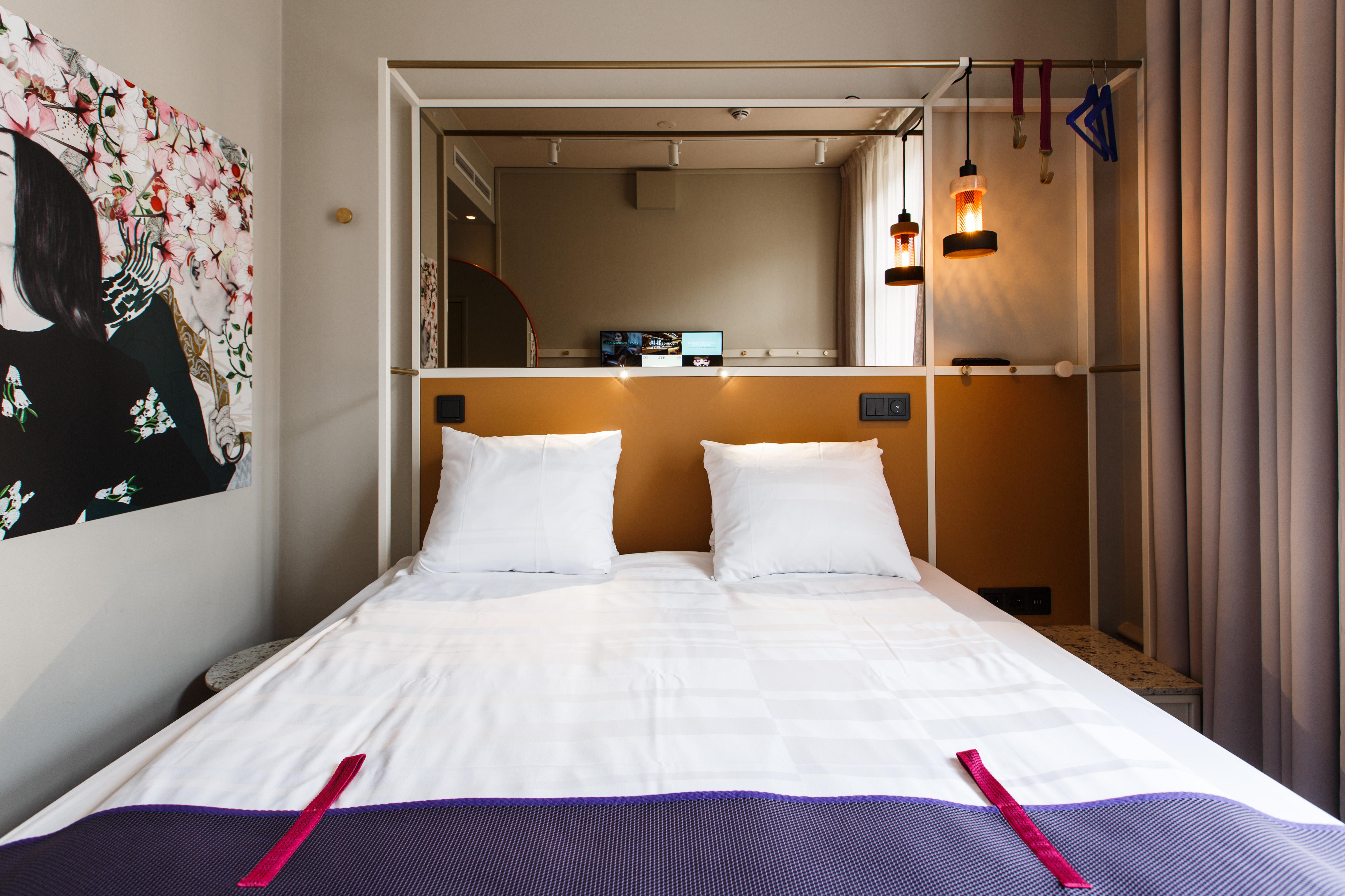 Las habitaciones de Scandic Upplandsgatan en Estocolmo