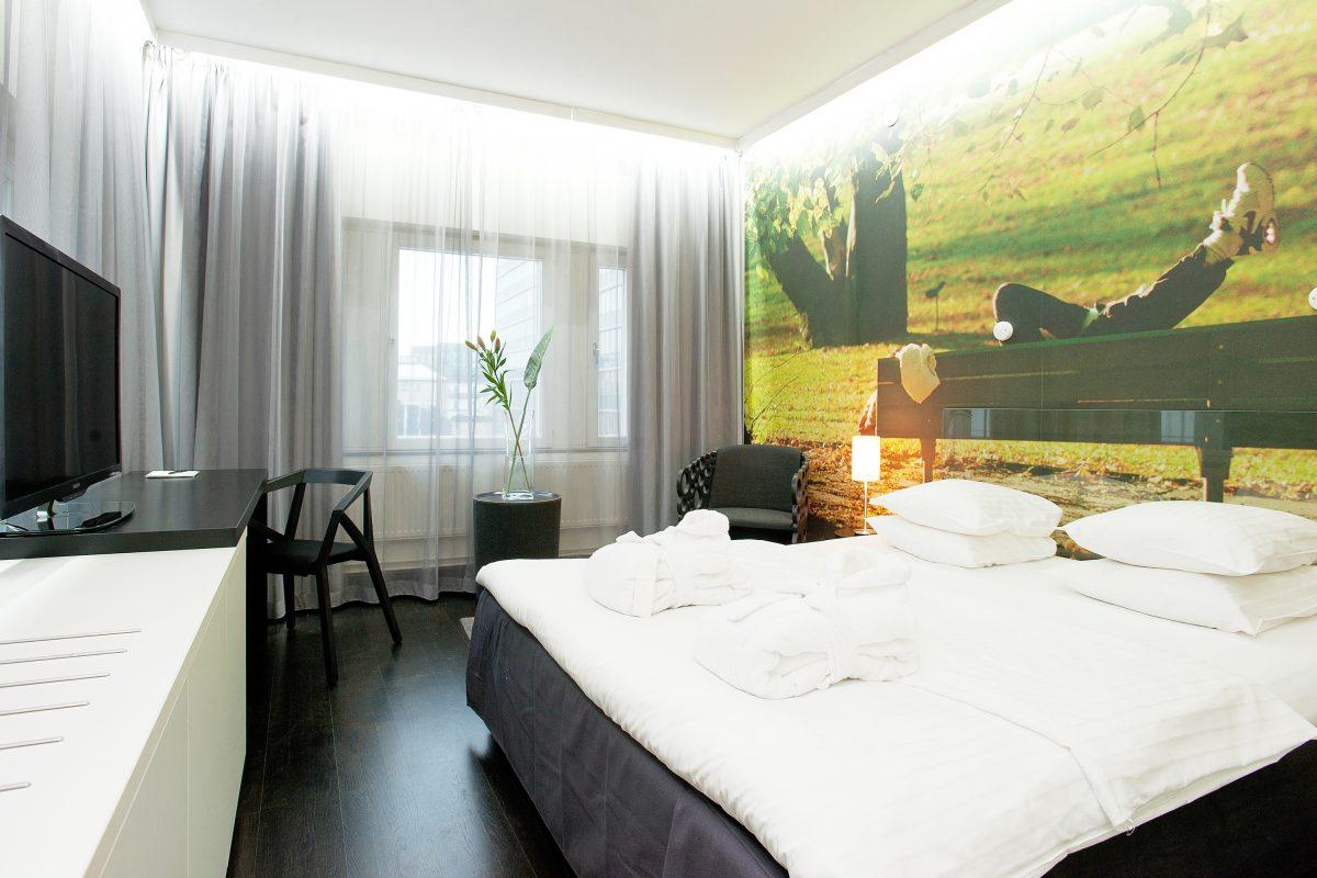 Habitación en Hotel C Stockholm <br> Foto: Carolina Pascual