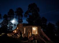Habitaciones en el hotel de los trolls en Suecia - Foto: Norrqvarn