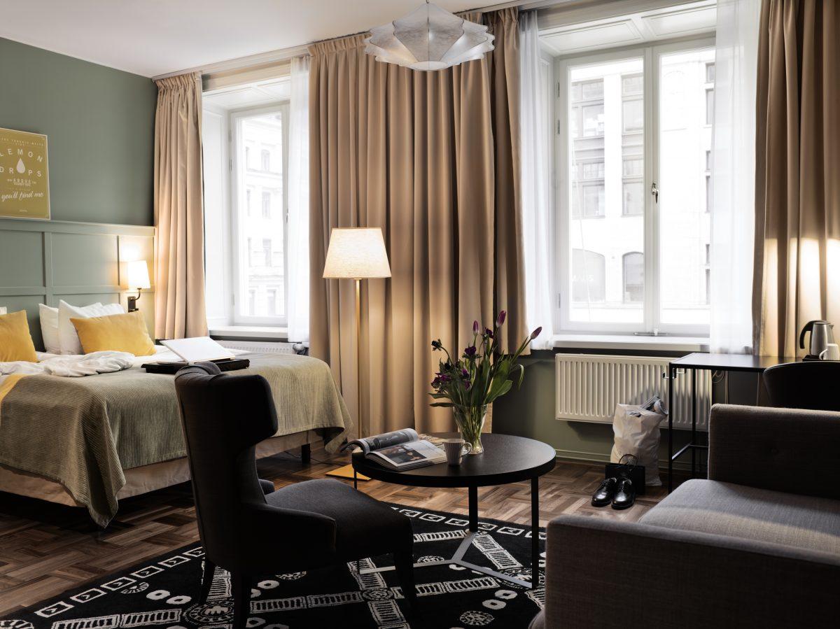 Habitacion familiar hotel Scandic Grand Central de Estocolmo