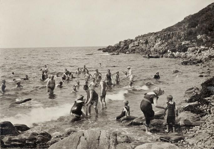 Playa de Ransvik en Mölle <br> Foto: Nordiska Museet