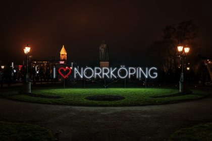 Norrköping celebra su festival de luces Foto: Musikservice AB/Upplev Norrköping