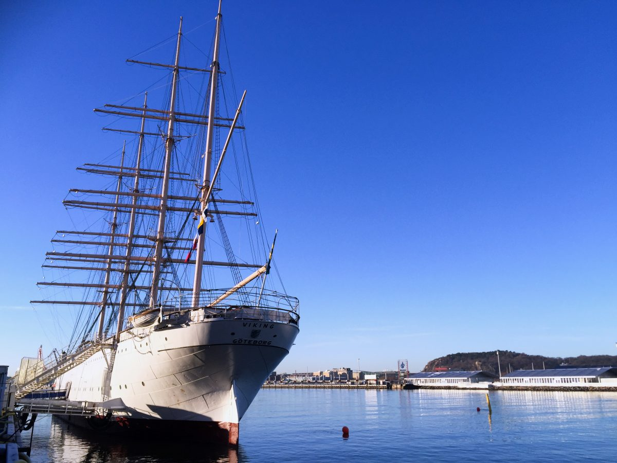 Barken Viking un alojamiento en barco en Gotemburgo <br> Foto: Israel Ubeda / sweetsweden.com