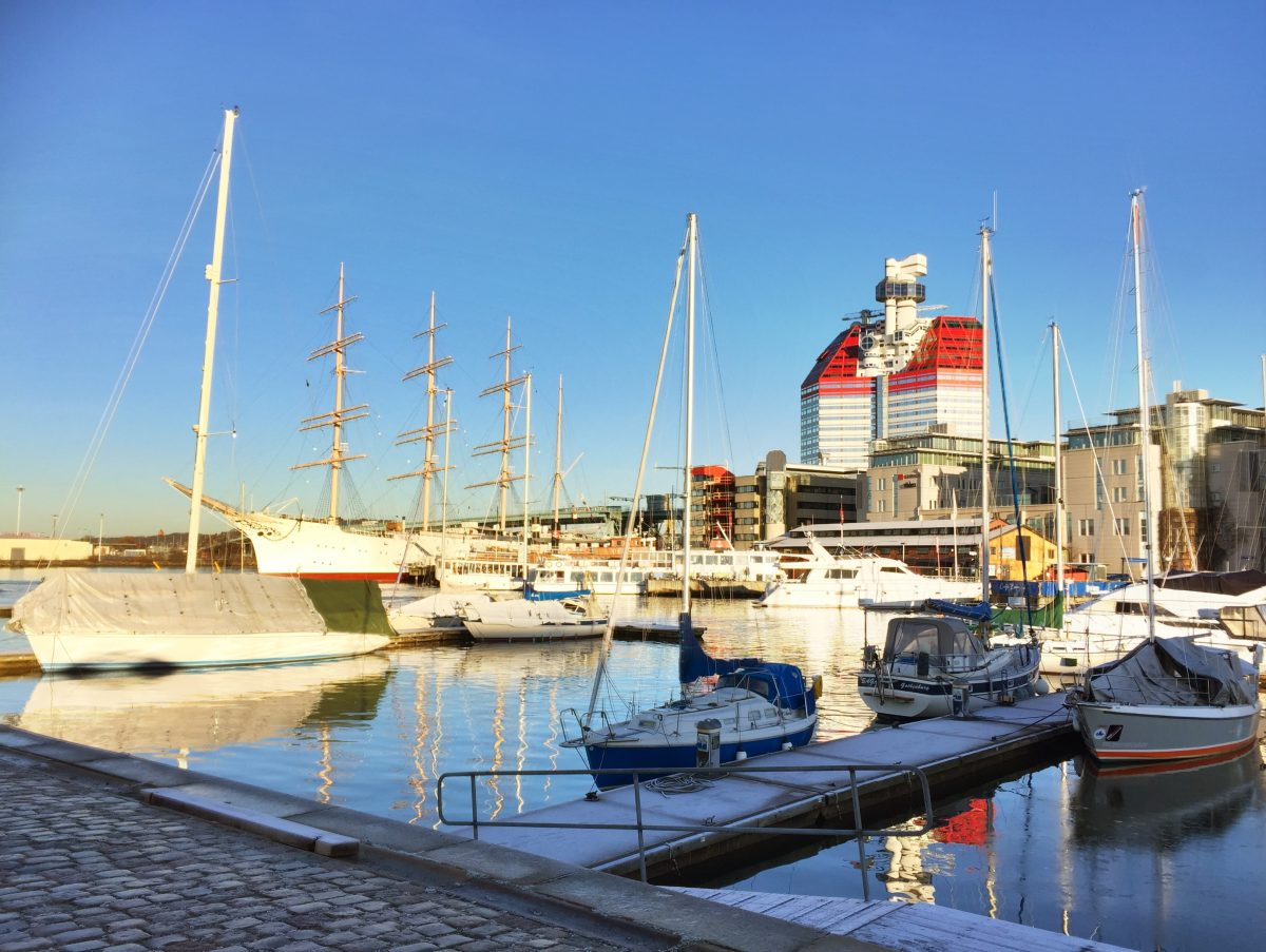 Gothenburg's Red & White Lipstick <br /> Photo: Israel Úbeda / sweetsweden.com