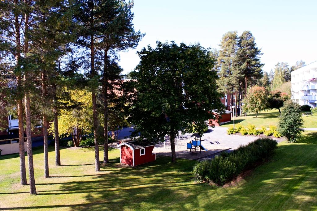 Viviendas integradas en la naturaleza en Skellefteå, <br>Foto: Israel Úbeda / sweetsweden.com