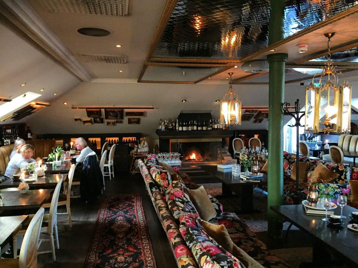 Restaurante del hotel Pigalle en Gotemburgo <br> Foto: Israel Úbeda / sweetsweden.com