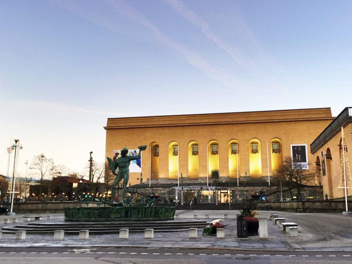 Museo de arte de Gotemburgo <br> Foto: Israel Ubeda / sweetsweden.com