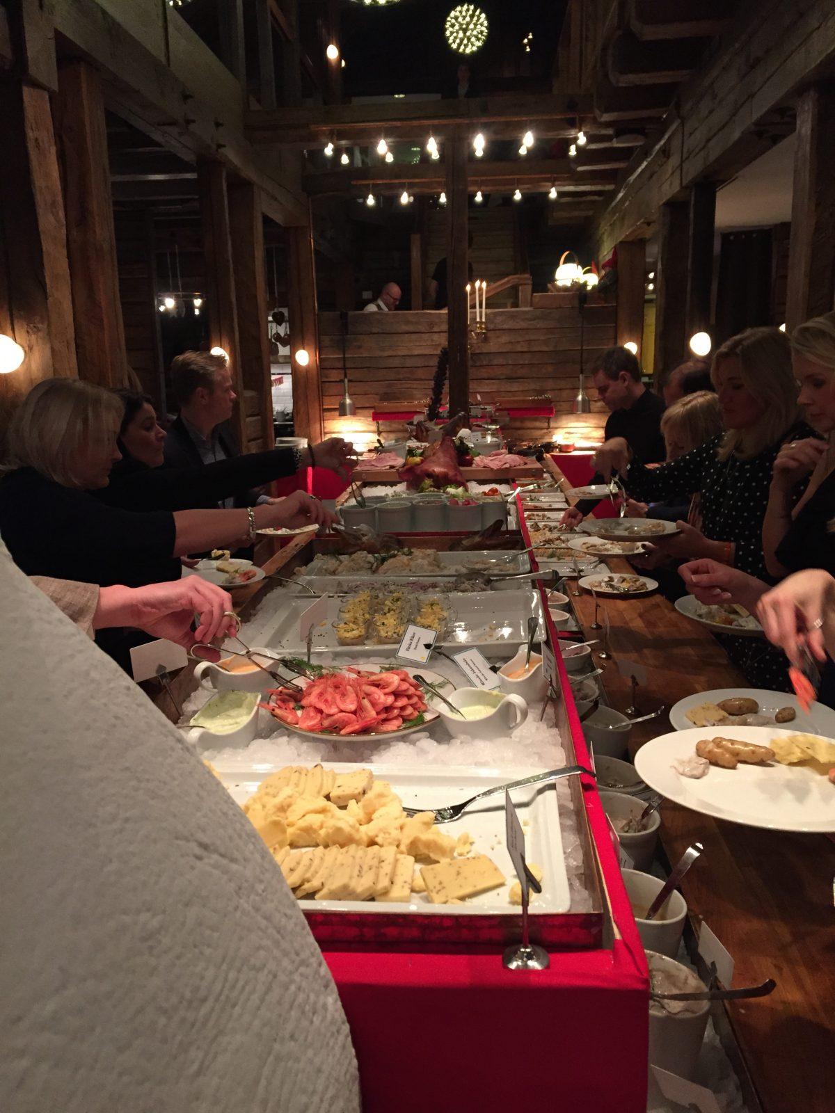 Julbord en Sjömagasinet <br> Foto: Israel Úbeda / sweetsweden.com