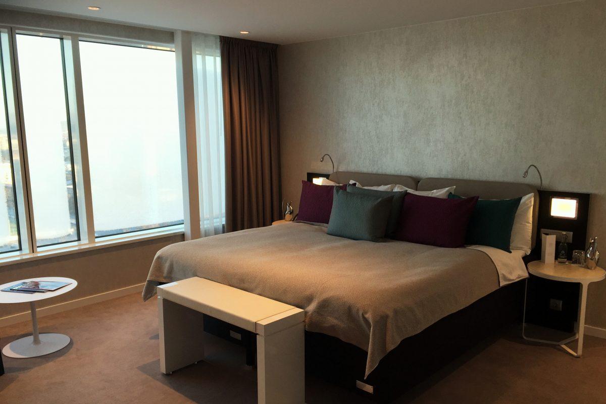 Habitacion del hotel Gothia Towers de Gotemburgo <br> Foto: Israel Ubeda / sweetsweden.com