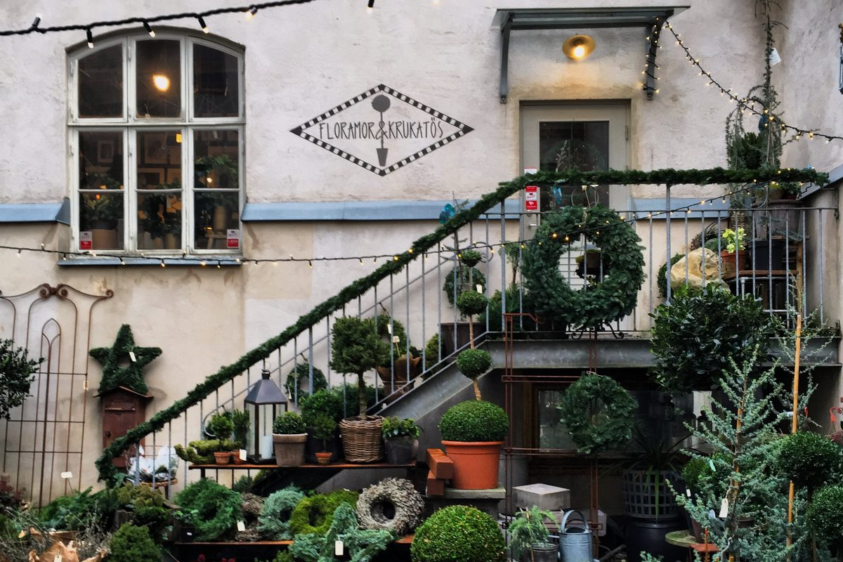 Floramor &amp; Krukatös, flower shop and home decor boutique in Gothenburg <br /> Photo: Israel Ubeda / sweetsweden.com