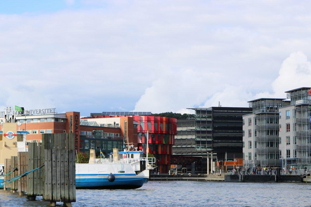 Kuggen el edificio de la Universidad de Chalmers en Gotemburgo <br> Foto: Israel Ubeda / sweetsweden.com