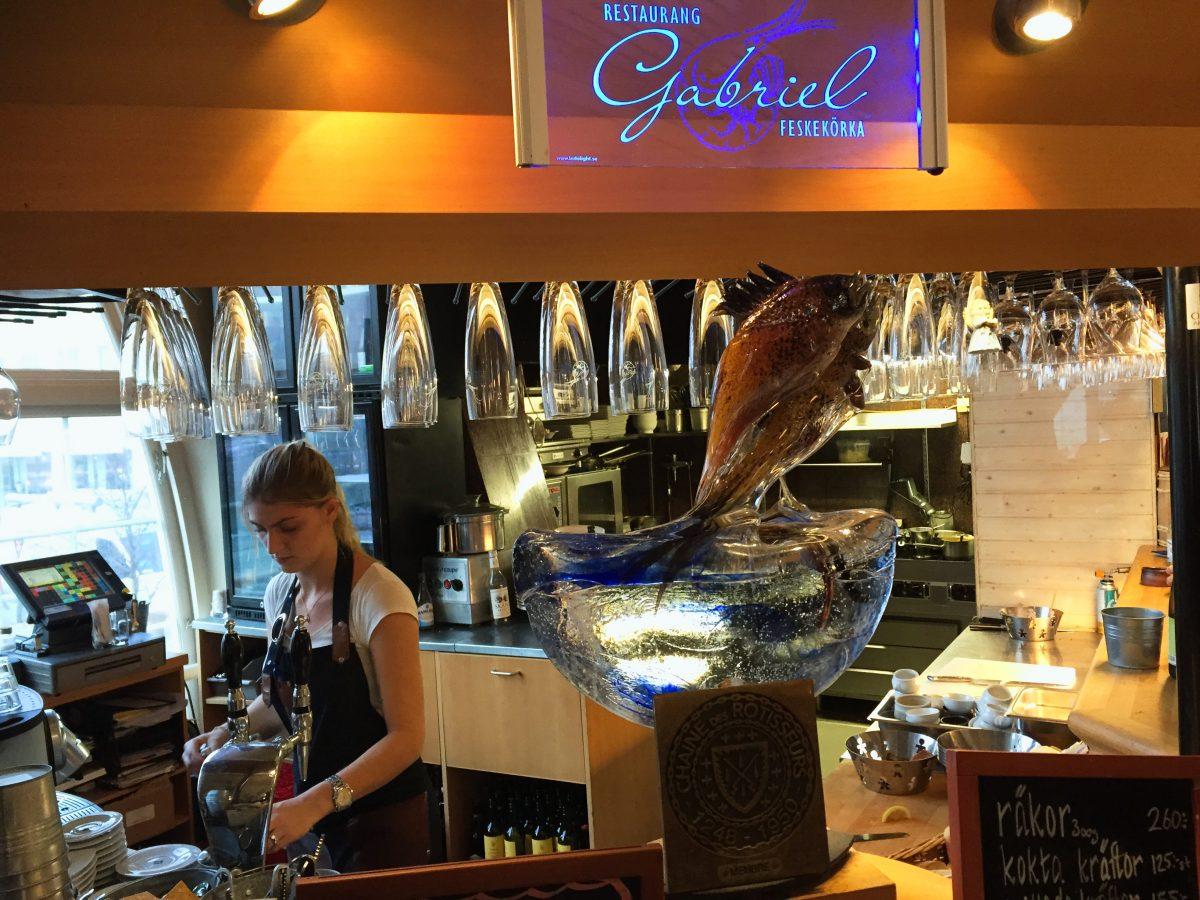 Restaurang Gabriel en Gotemburgo <br> Foto: Israel Úbeda / sweetsweden.com