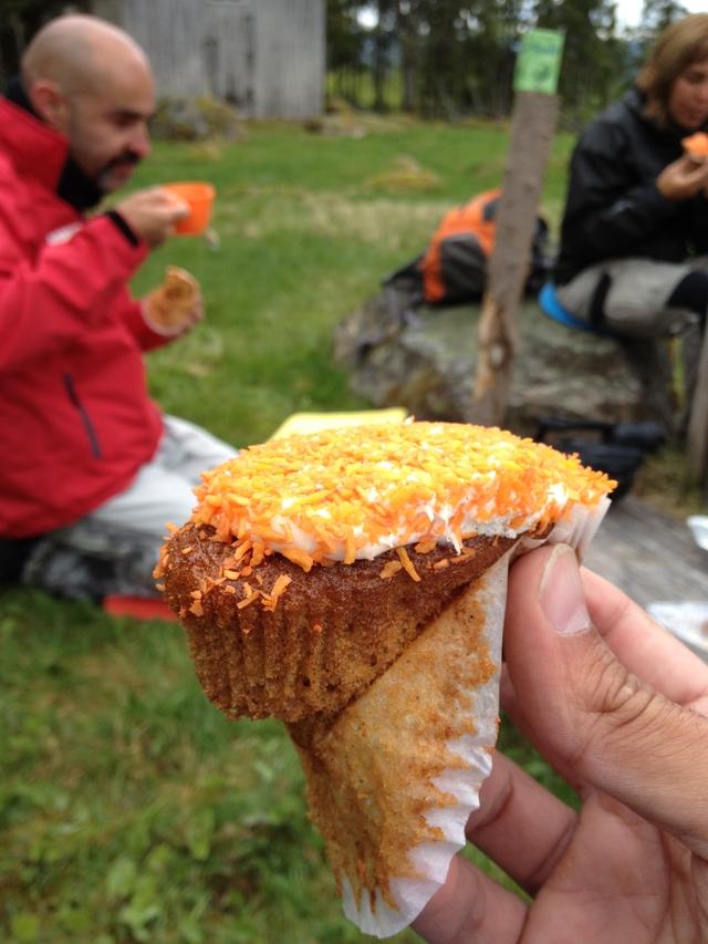Morotskaka: pastel de zanahoria sueco <br> Foto: Israel Úbeda