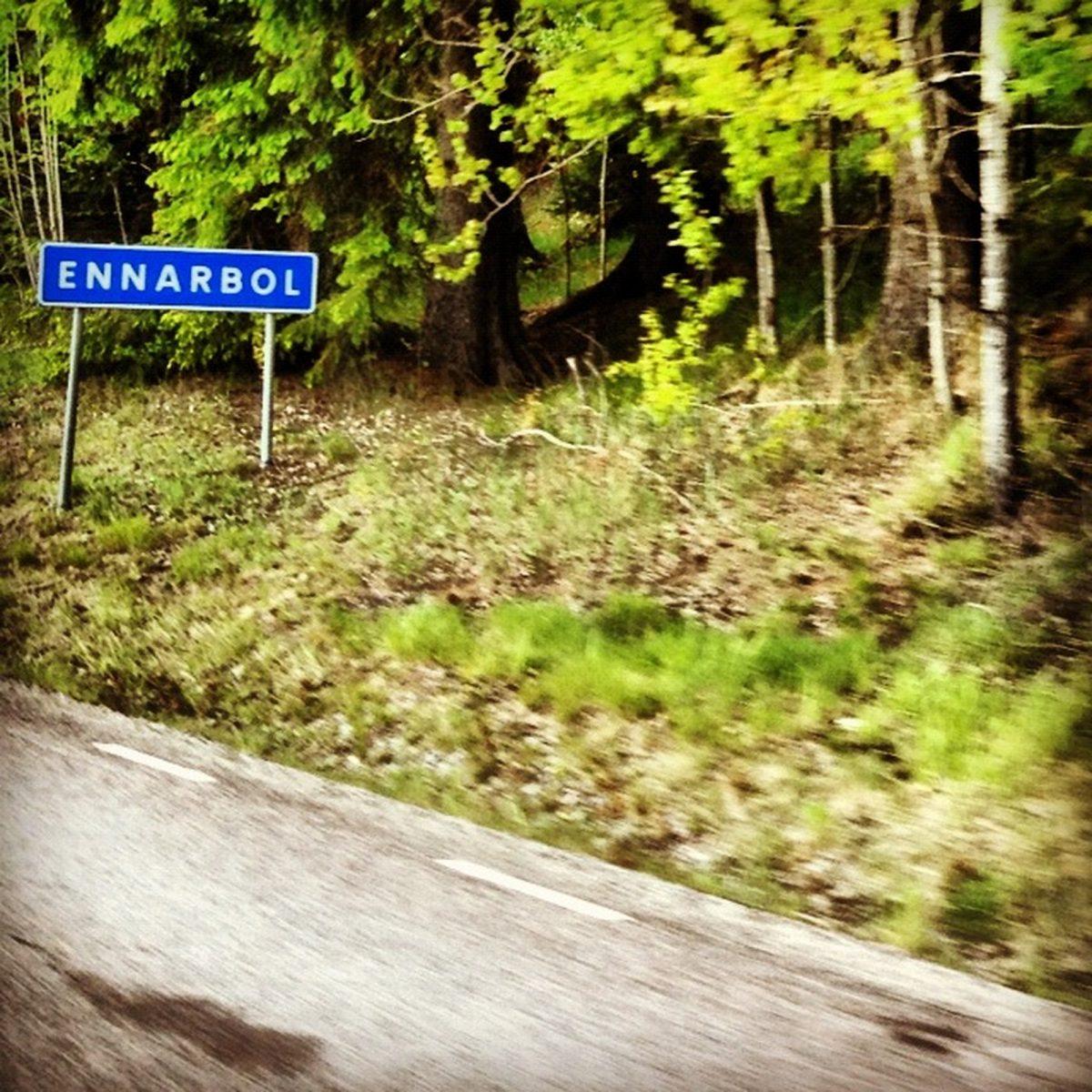 Ennarbol o En árbol? Un pueblecito en Värmland, Suecia <br> Foto: Israel Úbeda / sweetsweden.com