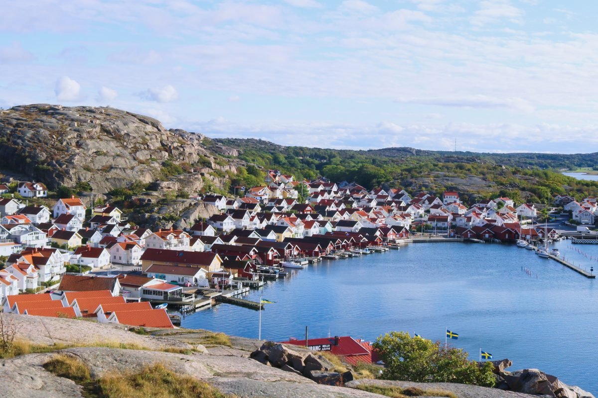 El pueblecito pescador de Hunnebostrand en Suecia <br> Foto: Israel Ubeda / sweetsweden.com