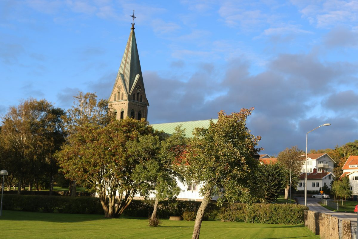 Iglesia gótica de Grebbestad <br> Foto: Israel Úbeda / sweetsweden.com