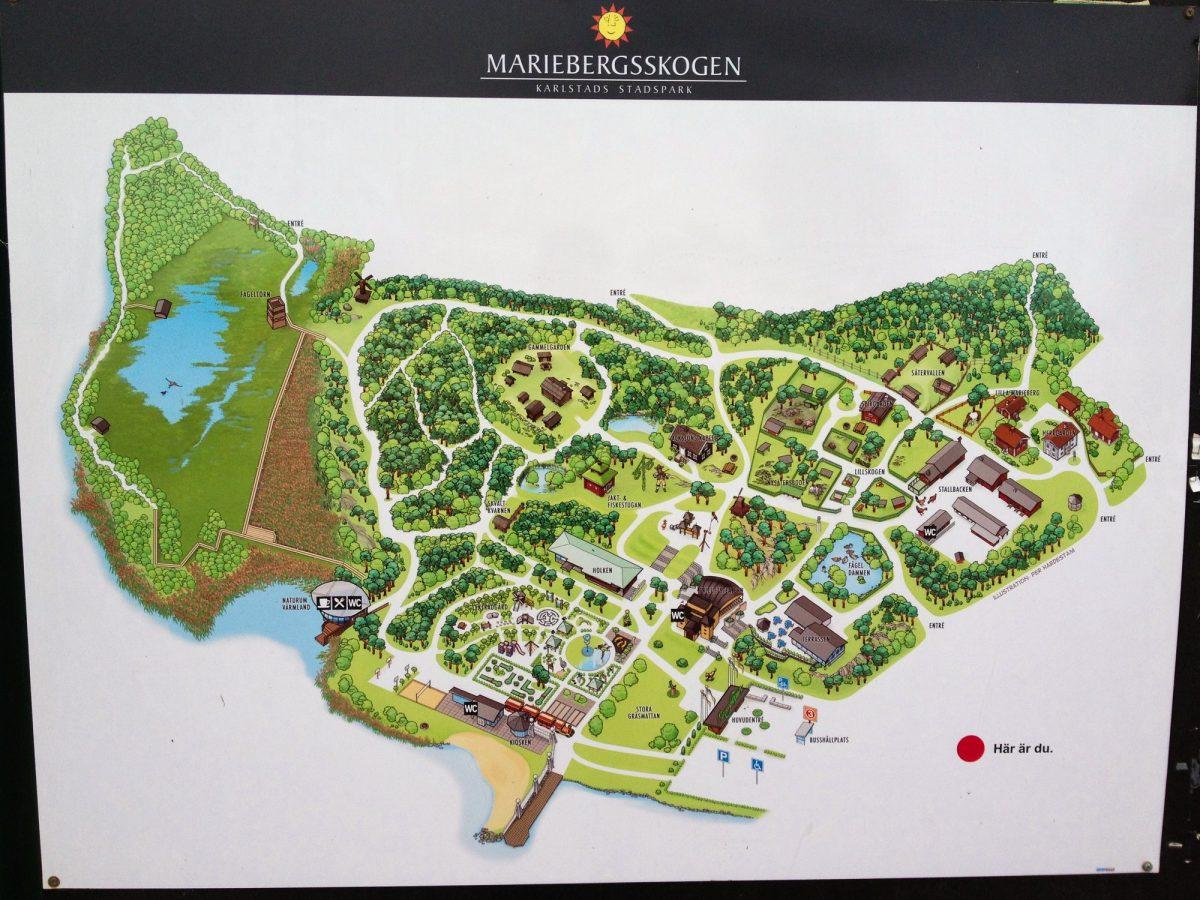 Mariebergsskogen en Karlstad<br>Foto: Israel Úbeda / sweetsweden.com