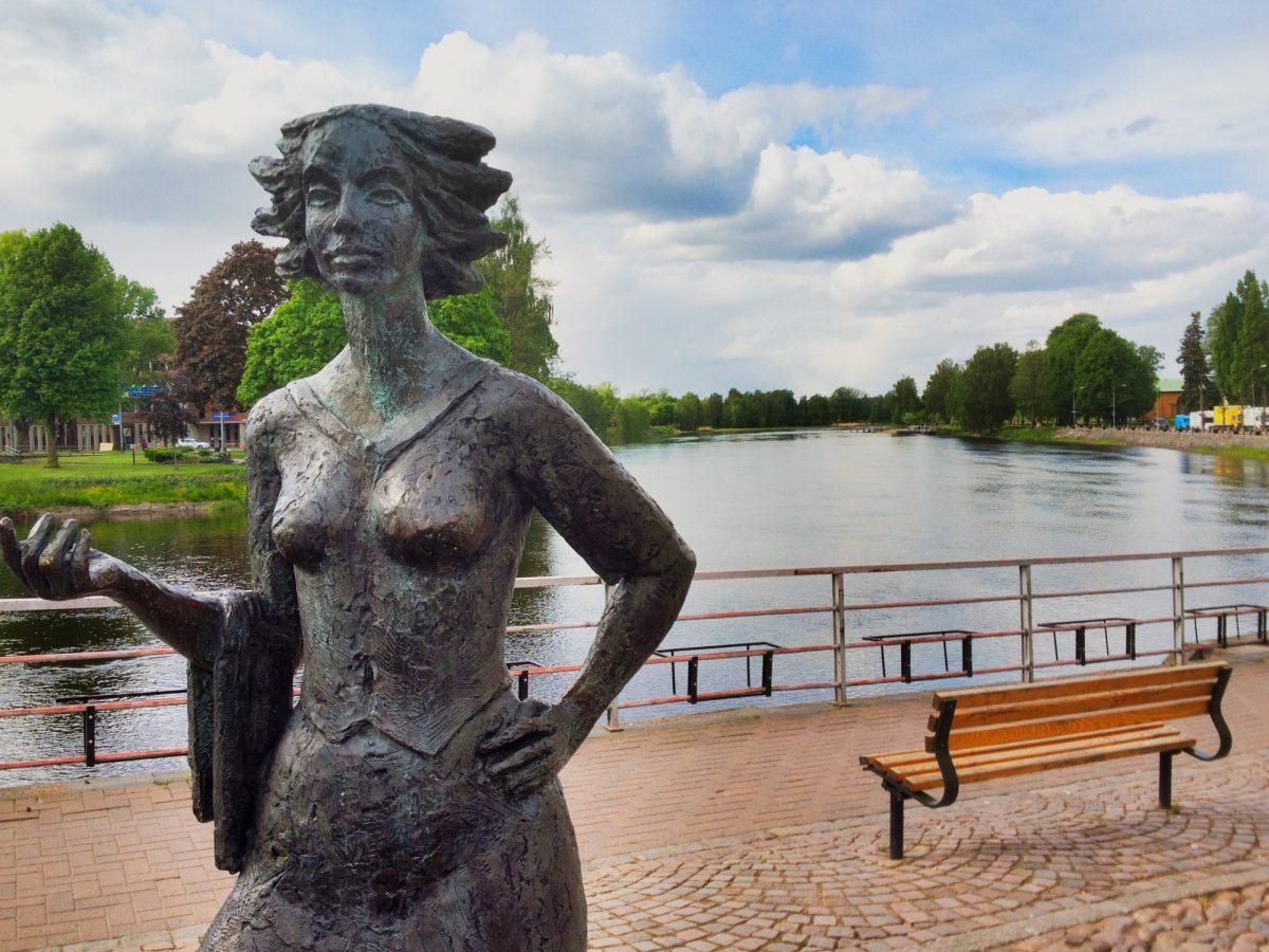 Sola i Karlstad en primavera <br> Foto: Israel Úbeda / sweetsweden.com