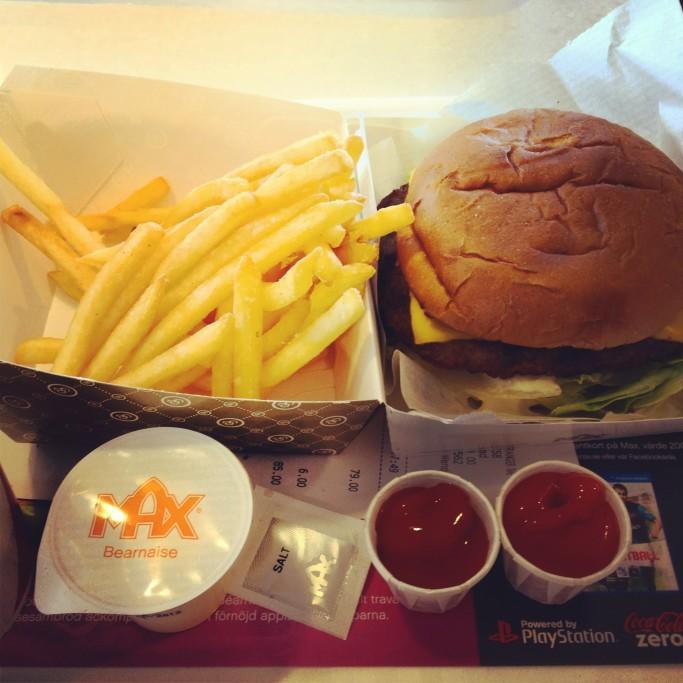 Max - hamburguesas suecas de la mejor calidad <br>Foto: Israel Úbeda / sweetsweden.com