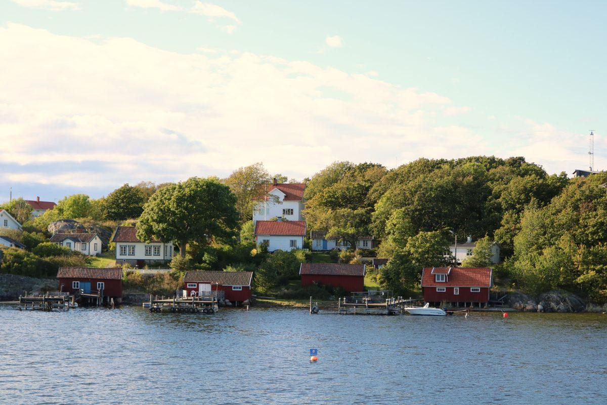 Casas en las islas Koster <br> Foto: Israel Ubeda / sweetsweden.com