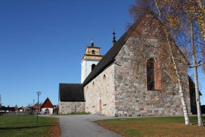La iglesia de Gammelstad <br> Foto: Israel Ubeda / sweetsweden.com