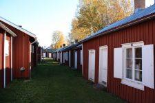 Casas rojas suecas en Gammelstad