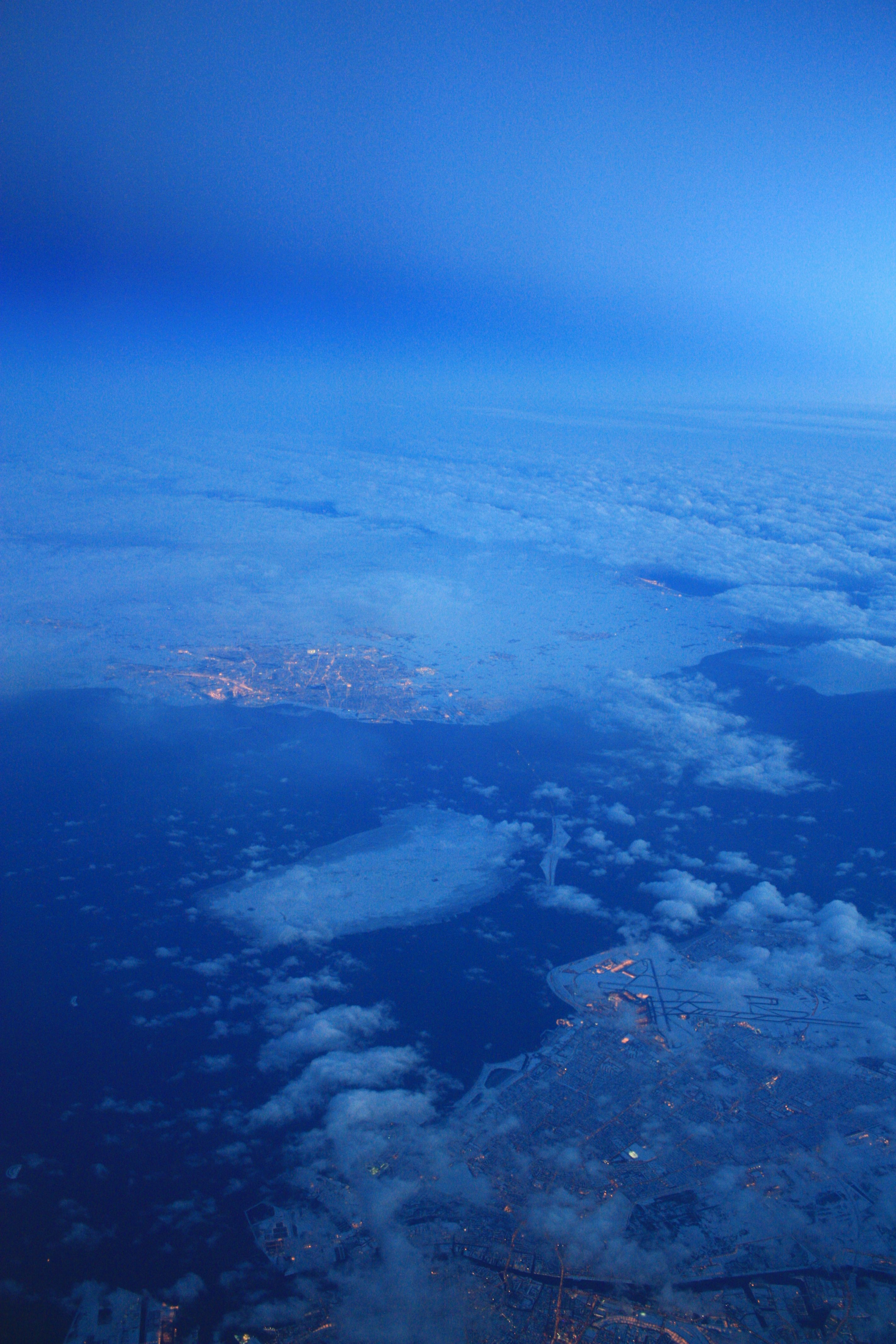 El estrecho de Öresund desde el aire <br> Foto: Israel Ubeda / sweetsweden.com
