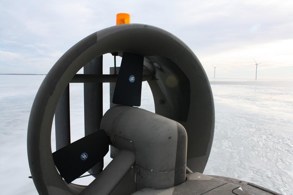 Svävare - aerodeslizador en sueco, foto: Israel Úbeda/sweetsweden.com