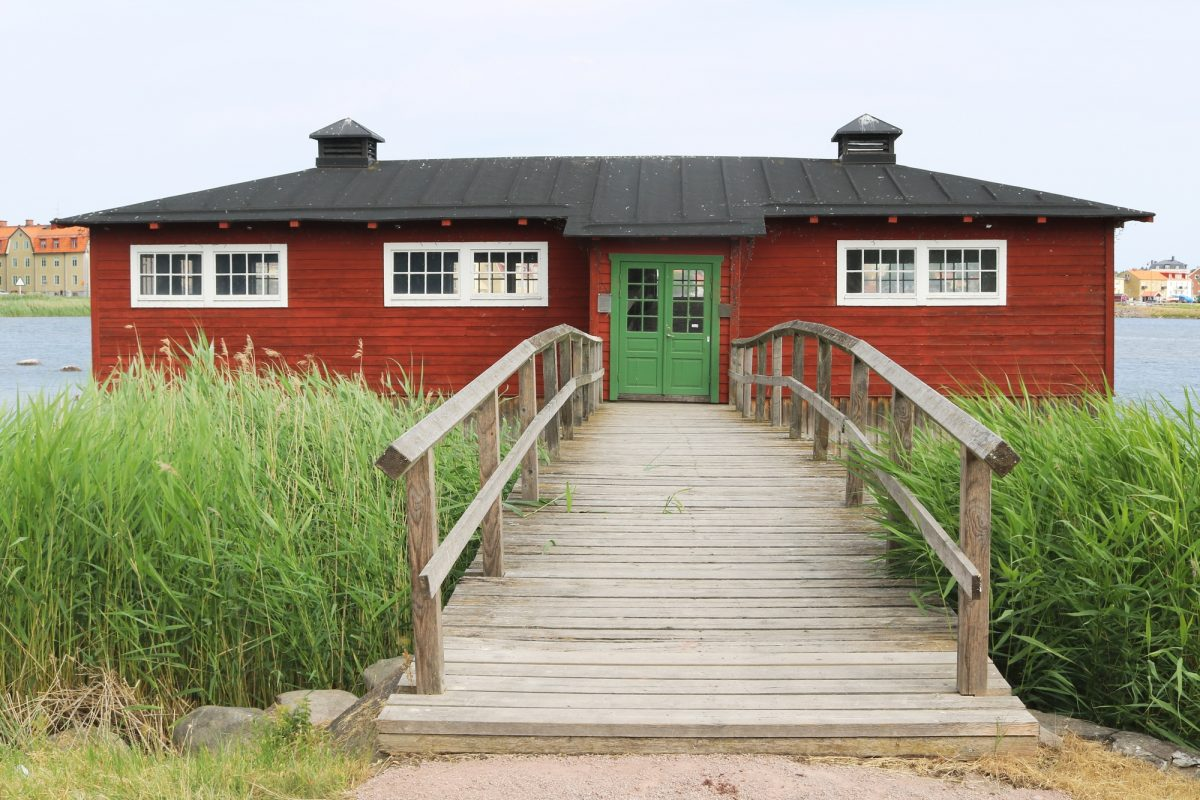 Klapphuset, la casa donde lavar la ropa en Kalmar <br> Foto: Israel Úbeda / sweetsweden.com