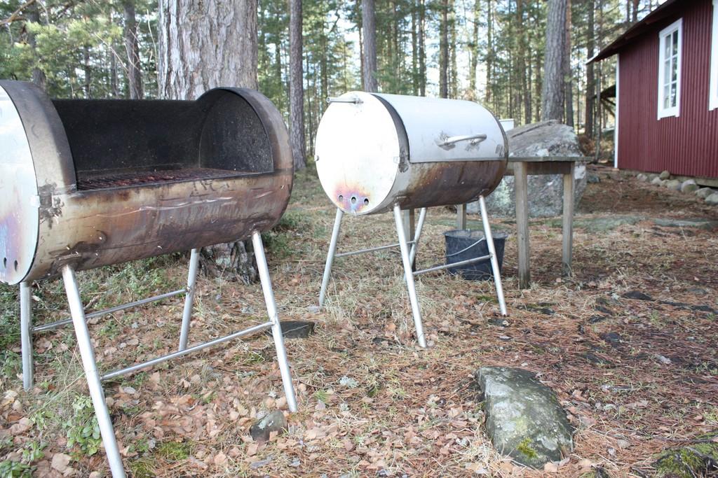 Barbacoas listas para el buen tiempo <br> Foto: Israel Úbeda / sweetsweden.com