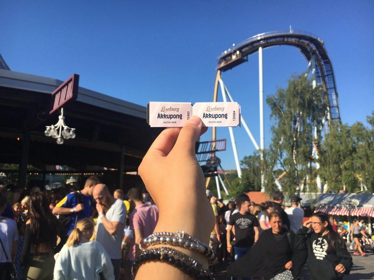 Cupones para las atracciones de Liseberg <br> Foto: Israel Úbeda / sweetsweden.com