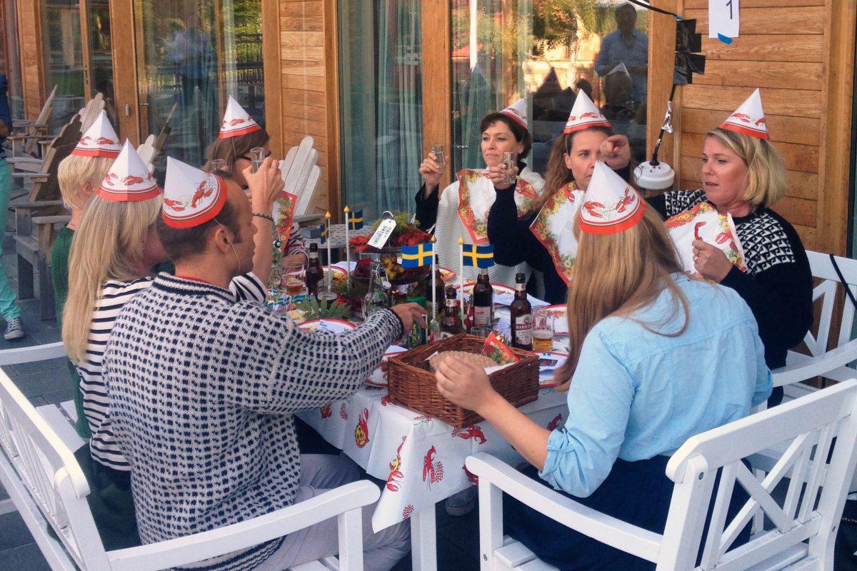 Kräftskiva, fiesta sueca de degustación de cangrejos <br> Foto: Israel Ubeda / sweetsweden.com
