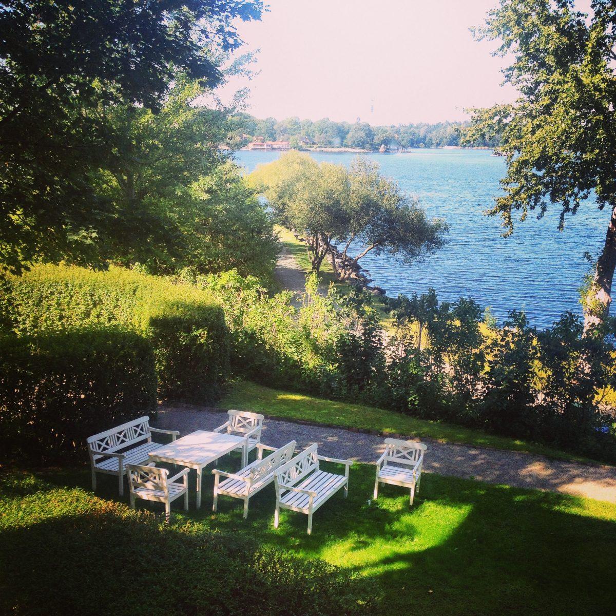 Vistas desde el Hotel J en Nacka, Estocolmo <br> Foto: Israel Úbeda / sweetsweden.com