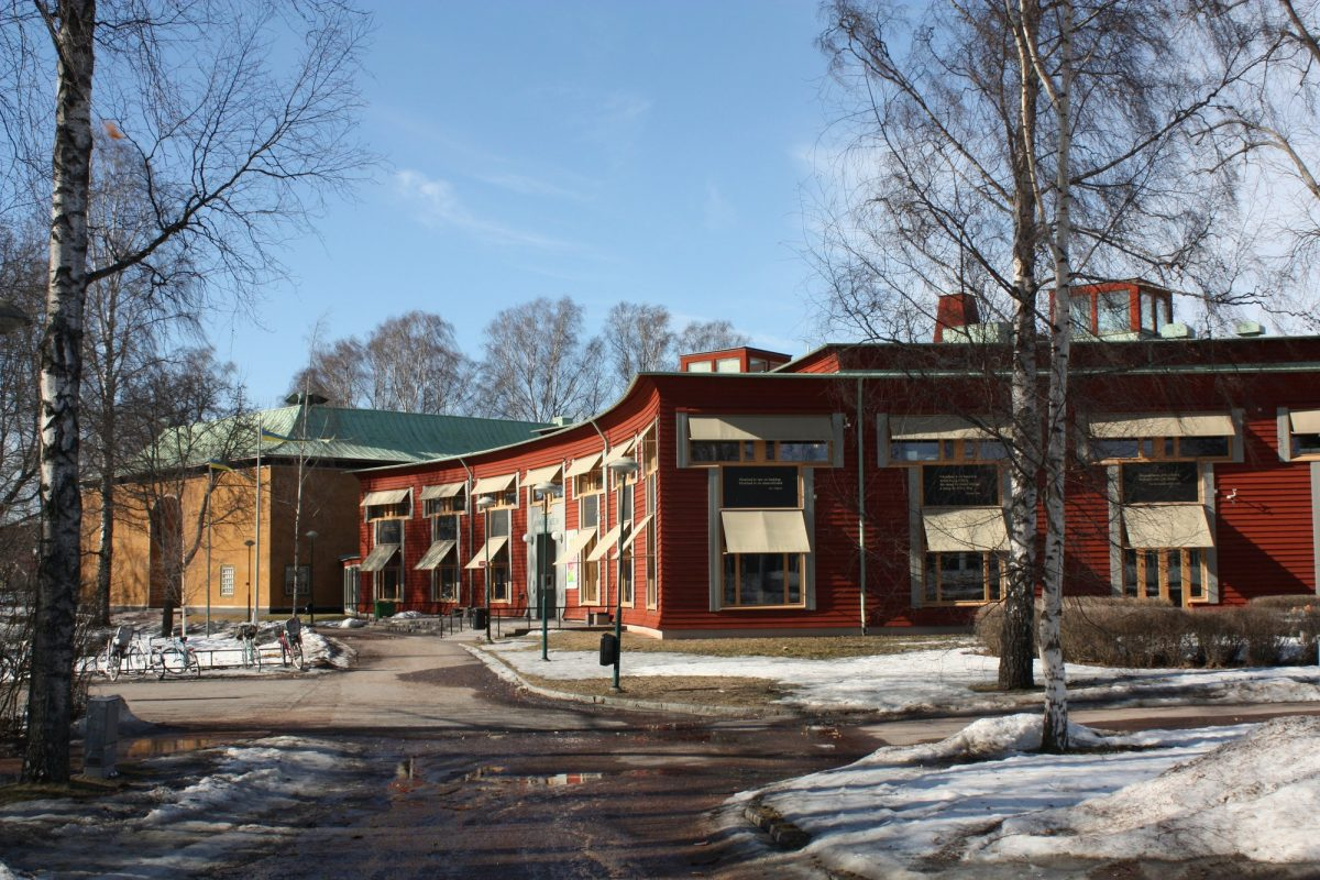 Museo de Värmland en Karlstad en invierno <br> Foto: Israel Úbeda / sweetsweden.com