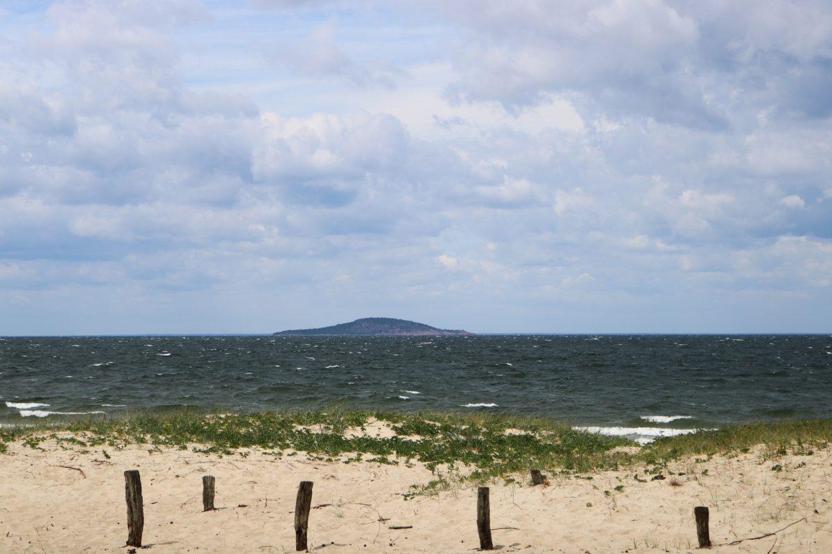 La isla Blå Jungfrun en el Báltico desde Öland <br> Foto: Israel Úbeda / sweetsweden.com