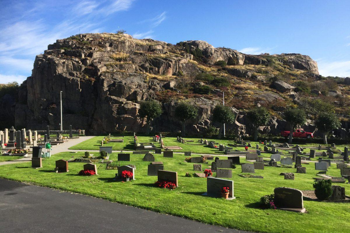Cementerio de Fjällbacka <br> Foto: Israel Ubeda / sweetsweden.com