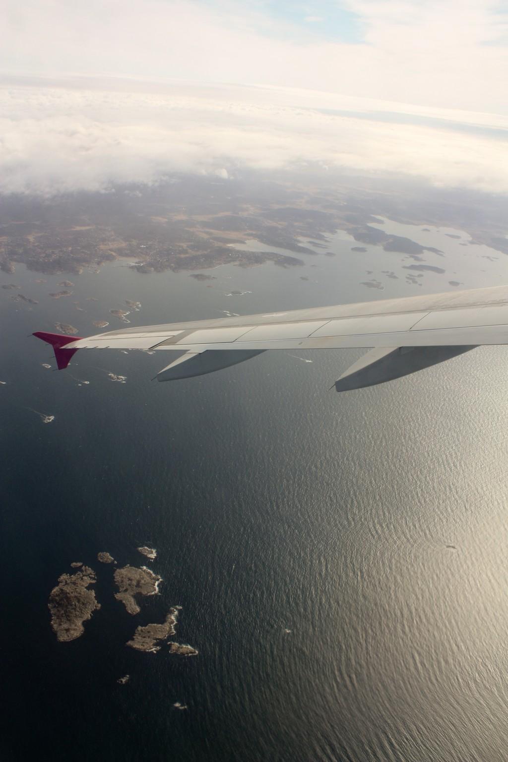 Fotografía aérea de la costa oeste de Suecia en Gotemburgo <br> Foto: Israel Úbeda / sweetsweden.com