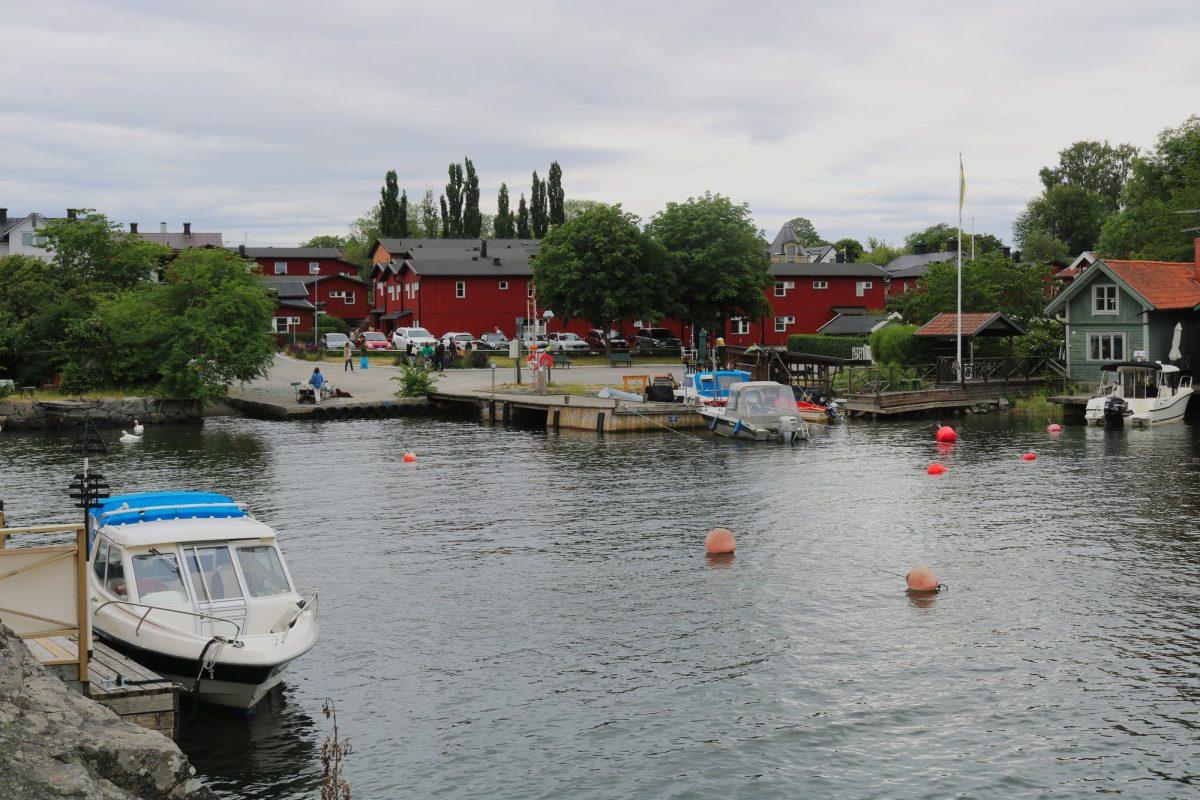 La isla de Vaxholm en el archipiélago de Estocolmo <br> Foto: Israel Úbeda / sweetsweden.com