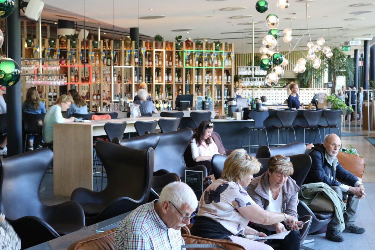 Interior del Clarion Hotel Sign en Estocolmo <br> Foto: Israel Úbeda / sweetsweden.com
