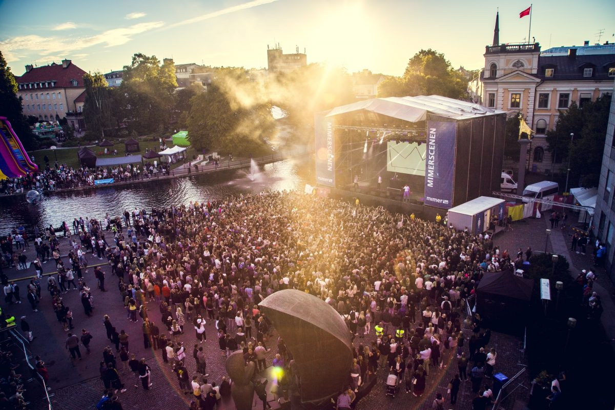 Västerås City Festival <br> Foto: Avig Kazanjian